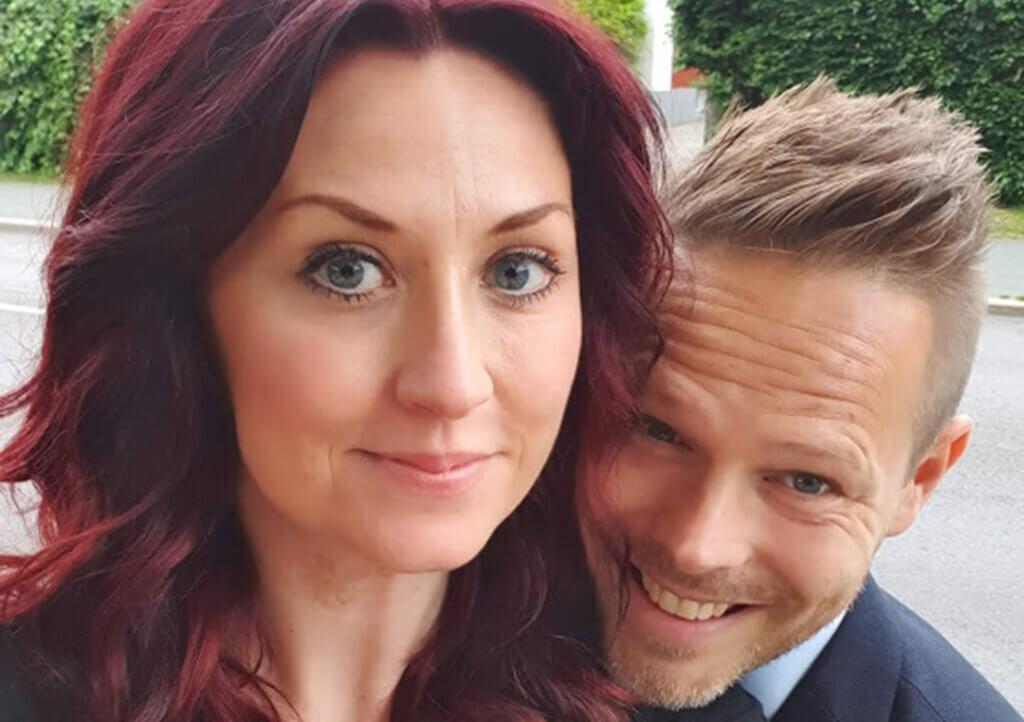Victoria Nordenstam och Anders Josefsson i Habo
